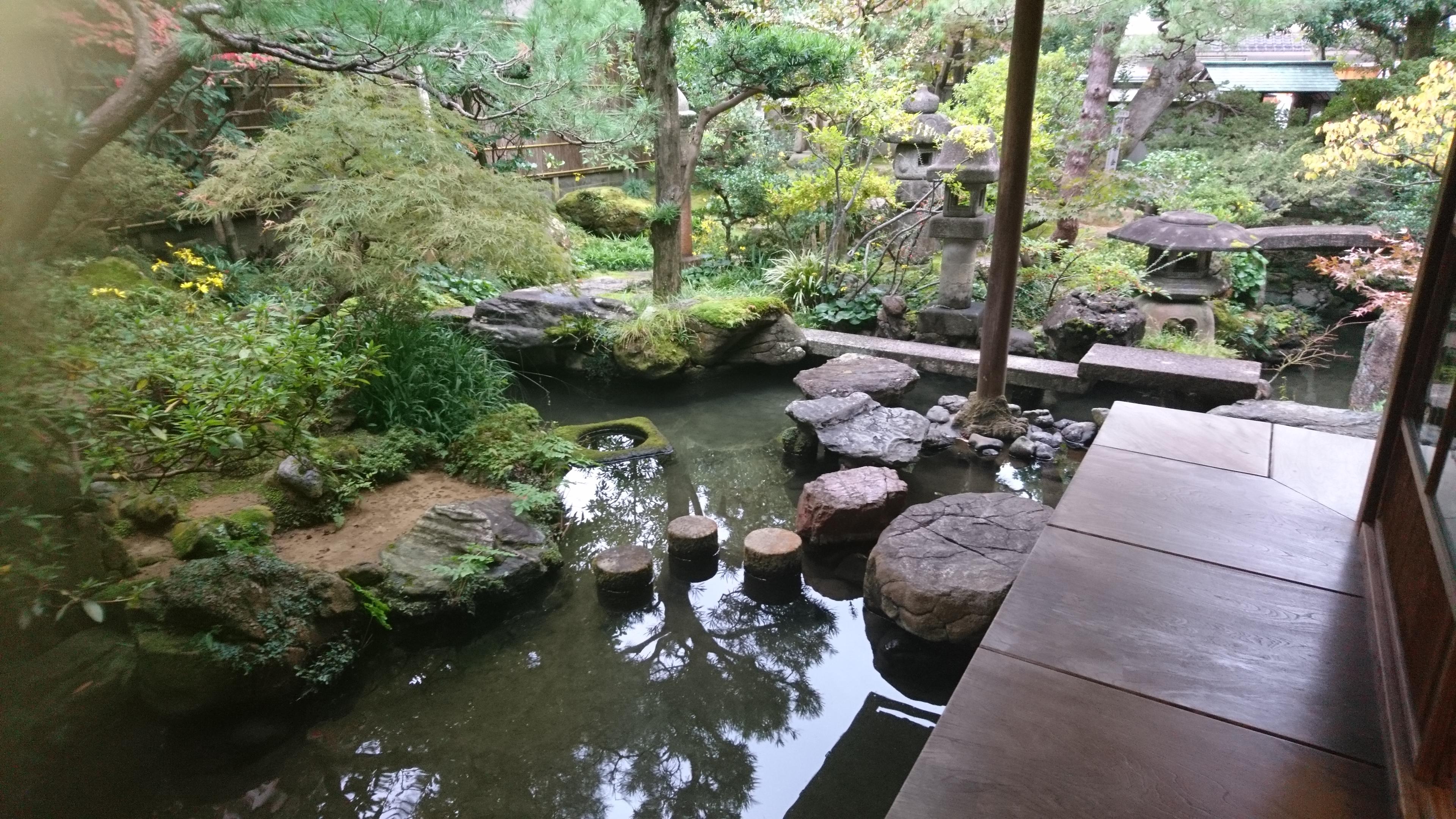 武家屋敷跡,野村家,庭園,金沢